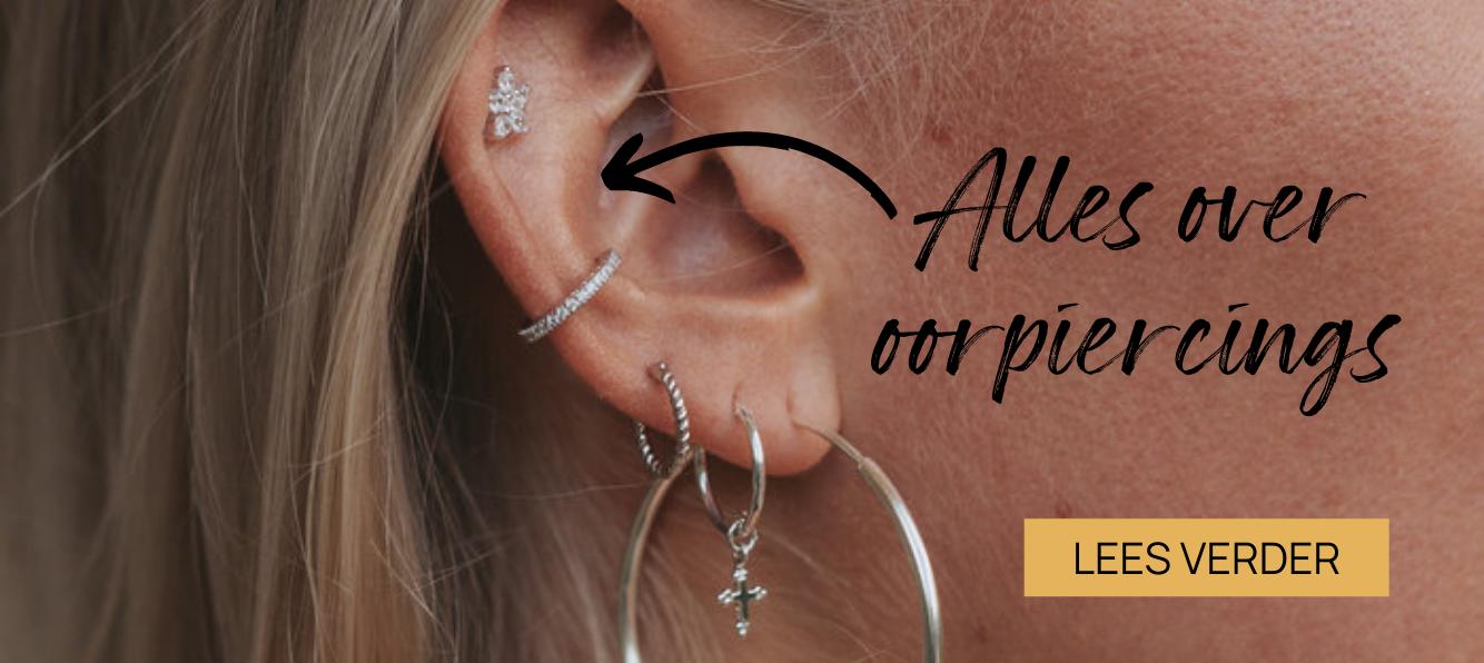 Trend: oorpiercings   Lees hier alles over de verschillende oorpiercings