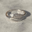 Little Feathers verstelbare ring - 925 zilver