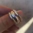 Stacking Ring Layered - maat 18 - 925 zilver