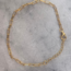 Chain armband - goldplated