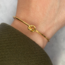 Love Knot Armband - goldplated