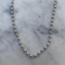 Zilver Beads Necklace - 925 zilver