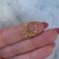 Piercing Crown - goldplated
