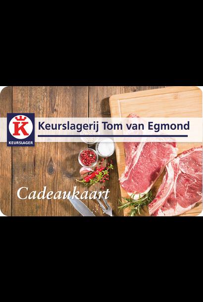 Keurslager Tom van Egmond