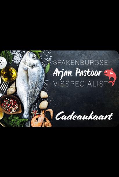 Visspecialist Arjan Pastoor