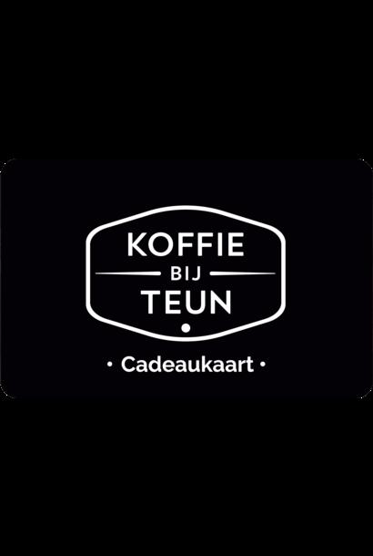 Koffie bij Teun