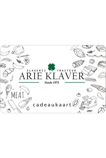 Keurslager Arie Klaver