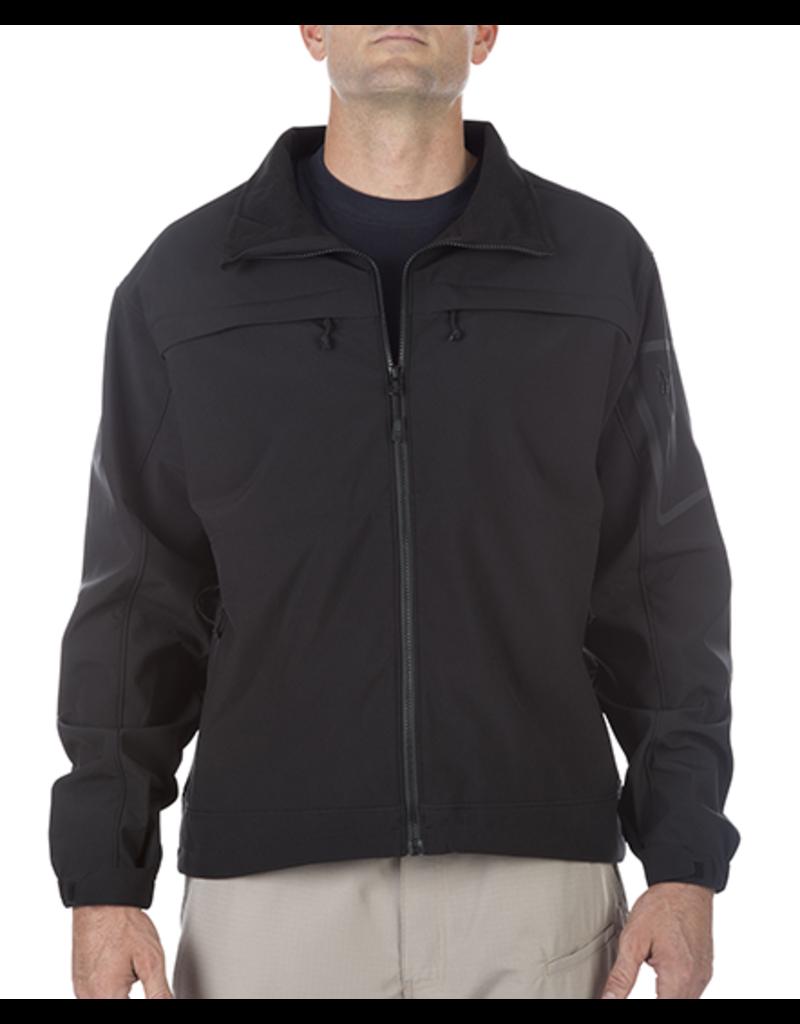 5.11 Chameleon Softshell Jacket Black/Grey Size M