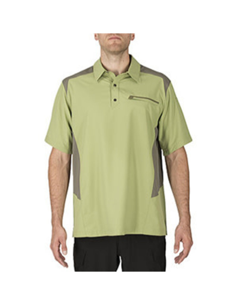 5.11 Tactical 71356  5.11 Tactical Freedom Flex Polo Mosstone