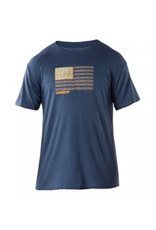 5.11 T-Shirt Recon Rope Ready Navy Heather XXL