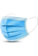 Kleding-uitrusting.nl Doos (50st) mondkapjes eenmalig gebruik (20200401)