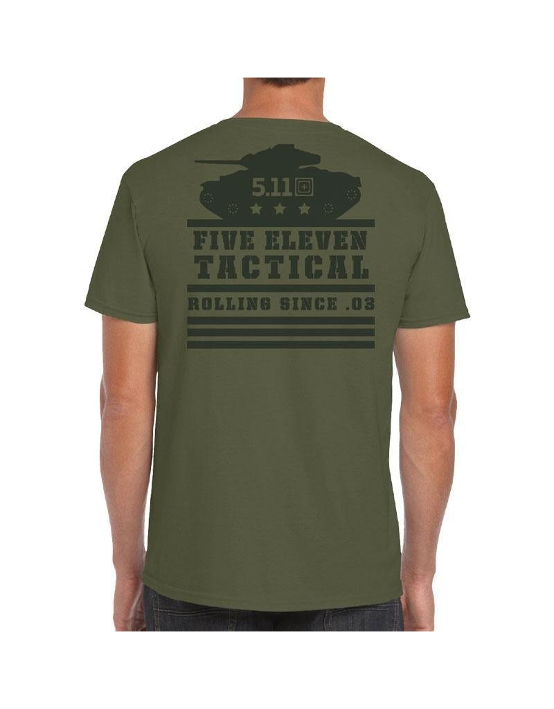 5.11 Tactical 41246 5.11 Tactical Rolling Panzer S/S Tee