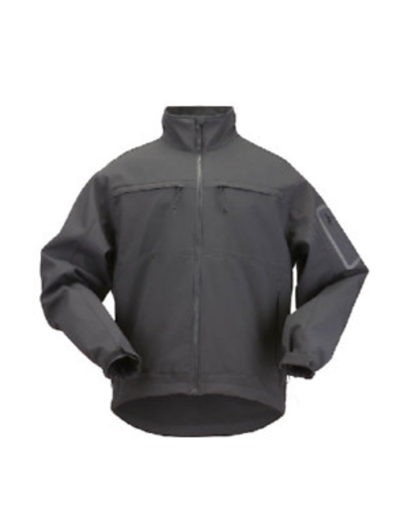 5.11 Tactical 48099 5.11 Tactical INT Chameleon Soft Shell JKT Black/Grey M