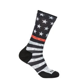 5.11 Tactical 10041AB 5.11 Tactical Sock And AWE Crew USA 460 Red