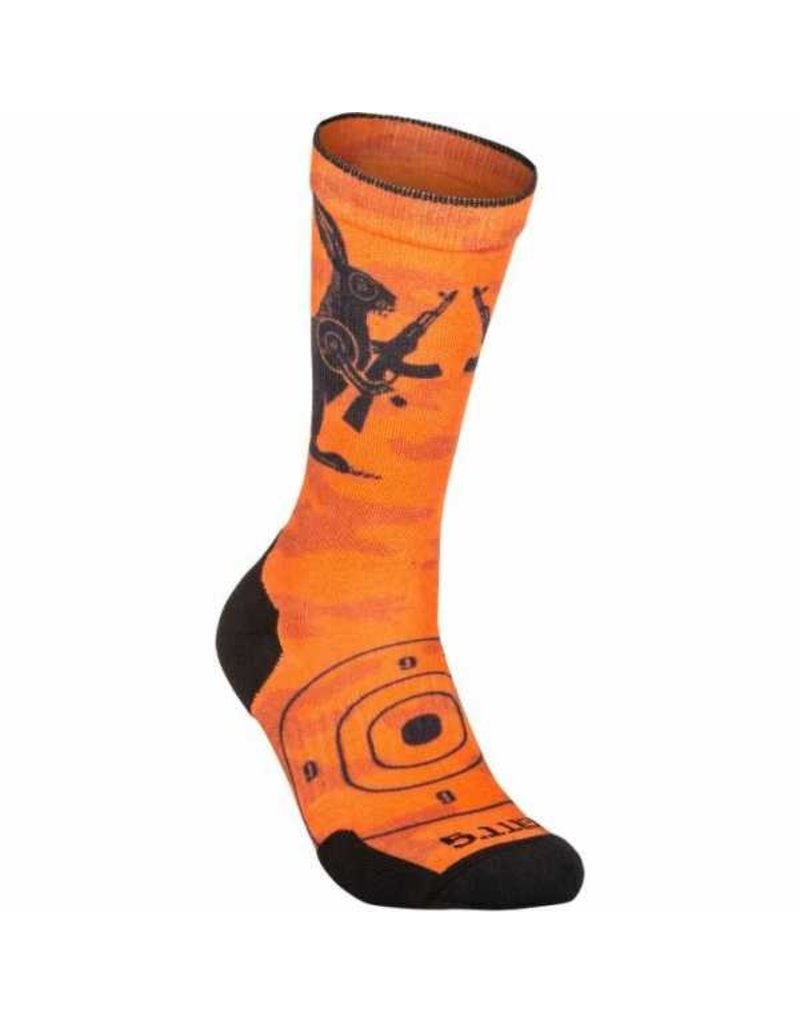 5.11 Tactical 10041AH 5.11 Tactical Sock and AWE Crue Animal 461 Orange