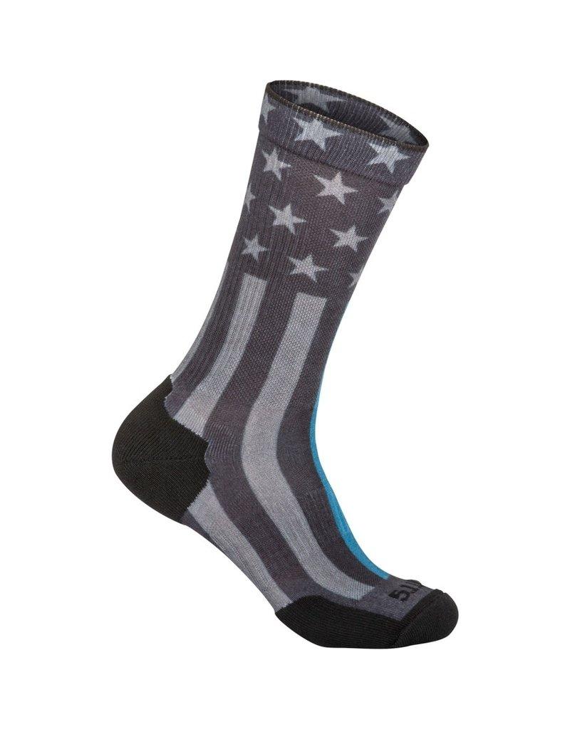5.11 Tactical 10041AA  5.11 Tactical Sock And AWE Crew TBL Black 019