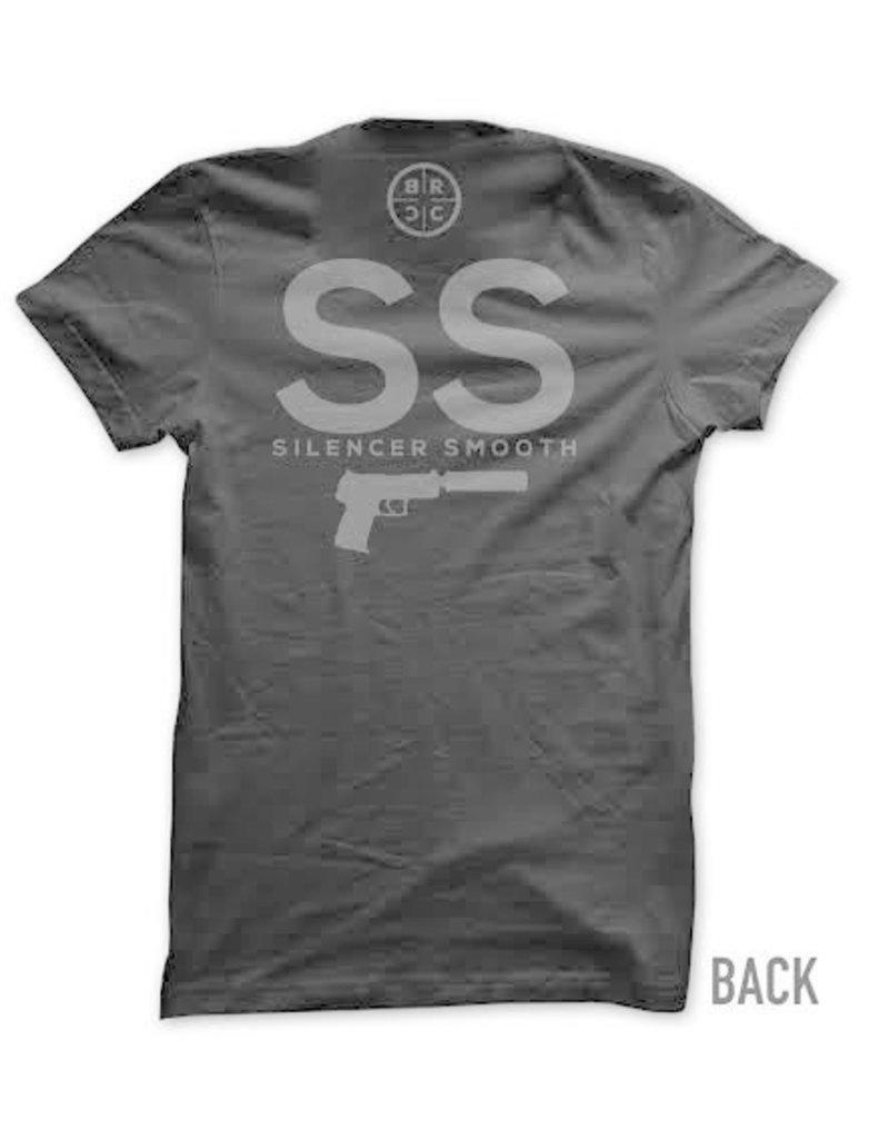 Black Rifle Coffee Black Rifle Coffee BRCC Classic Logo  Silencer smooth T-shirt