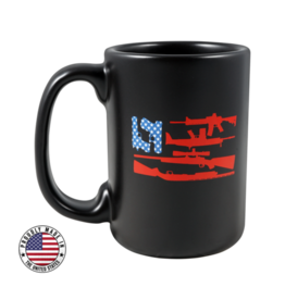 Black Rifle Coffee Black Rifle Coffee  Freedom Flag Ceramic Mug