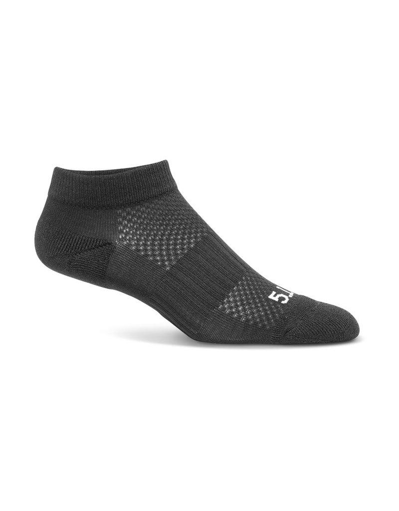 5.11 Tactical 10035 5.11 Tactical 3-pack PT Ankle Sock Black 019