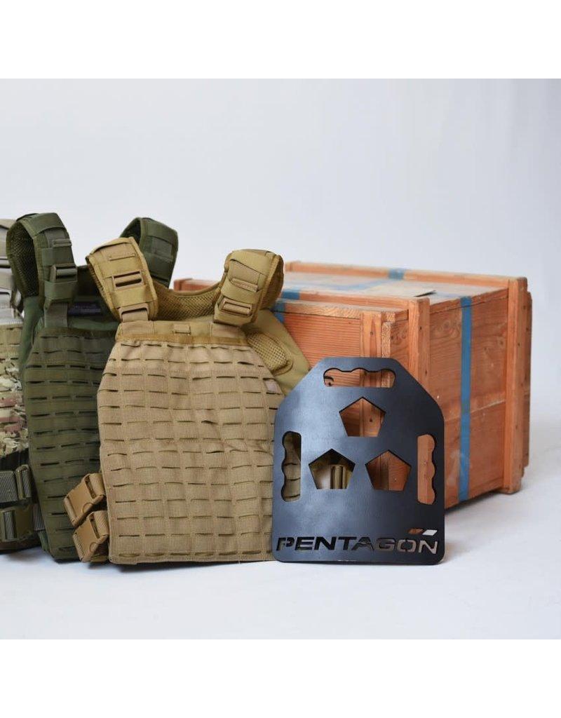 Pentagon K 25060 Pentagon Metallon Tac-Fitness Plates (2x3KG)