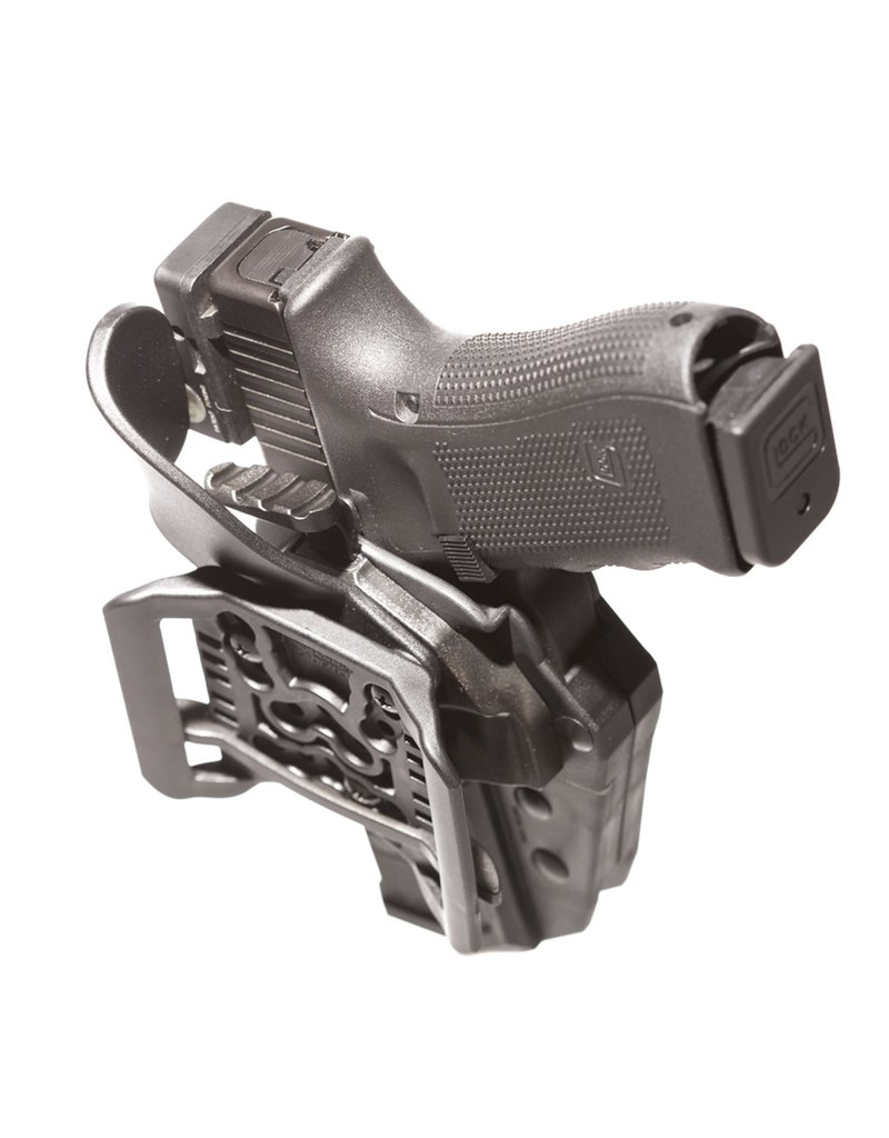 5.11 Tactical 50030 5.11 Tactical ThumbDrive Level 2 retention Holster Glock 19/23 Right Hand Side Black 019