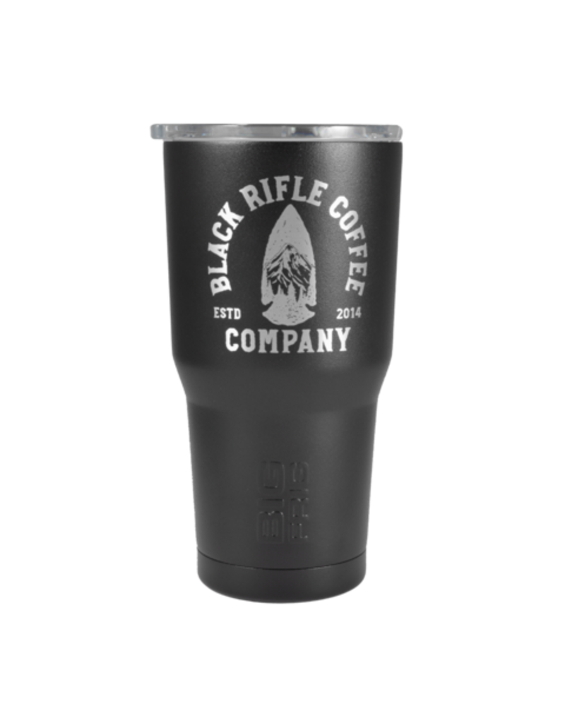 Black Rifle Coffee Black Rifle Coffee Tumbler Big Frig Arrowhead Black