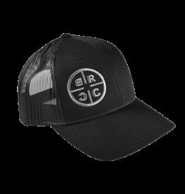 Black Rifle Coffee Black Rifle Coffee,  Reticle Hat Black (Grey Stitching))