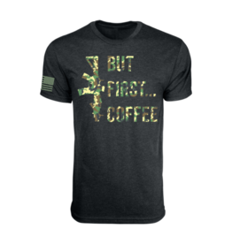 Black Rifle Coffee Black Rifle Coffee But First Coffee T-Shirt Black/Camo