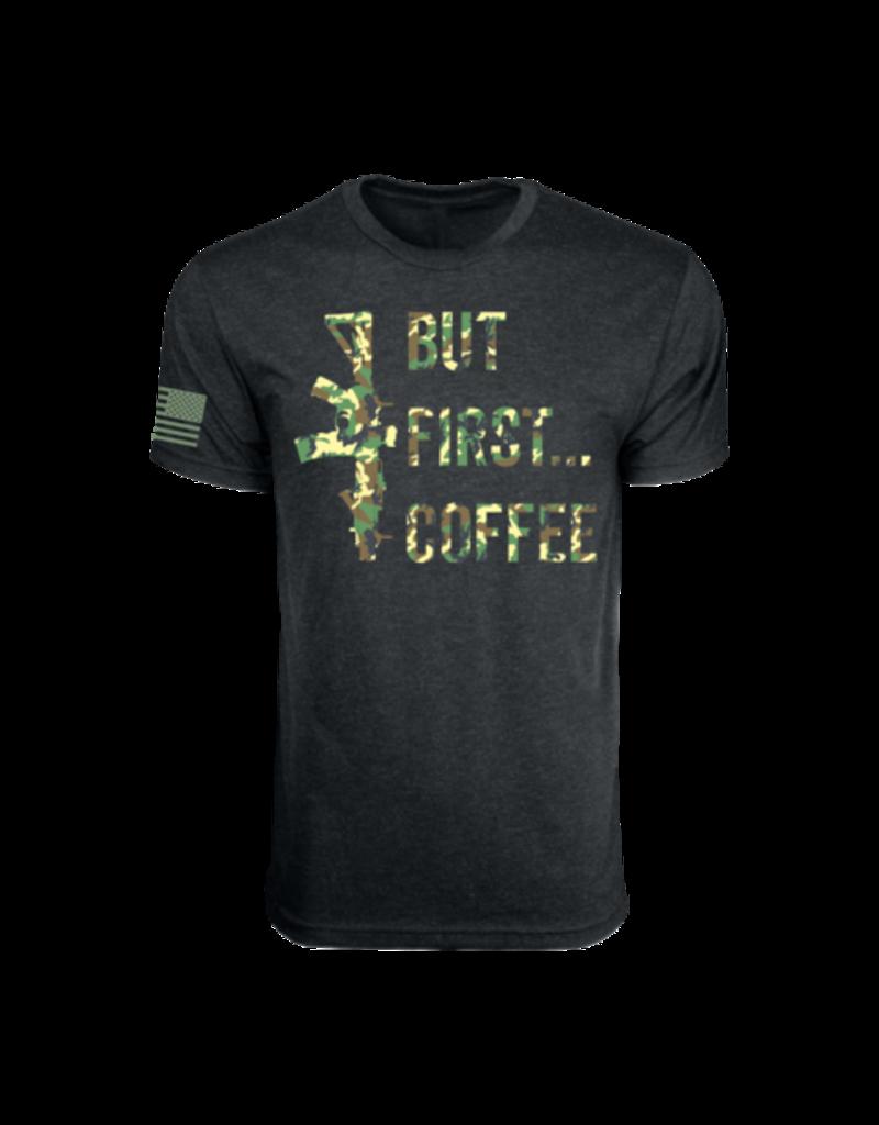Black Rifle Coffee Black Rifle Coffee But First Coffee T-Shirt Black/Camo