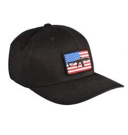 Black Rifle Coffee Black Rifle Coffee SBR Flag RWB Patch Hat Black L/XL
