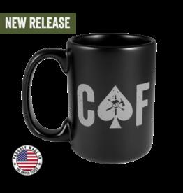 Black Rifle Coffee Black Rifle Coffee, CAF Mug, Ceramic, Black