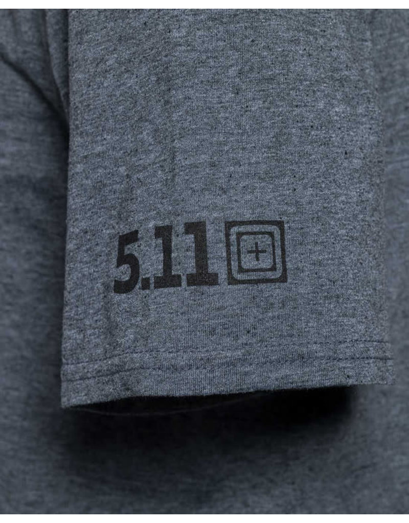 5.11 Tactical 41280ZI 5.11 Tactical Send It S/S Tee 035 Charcoal