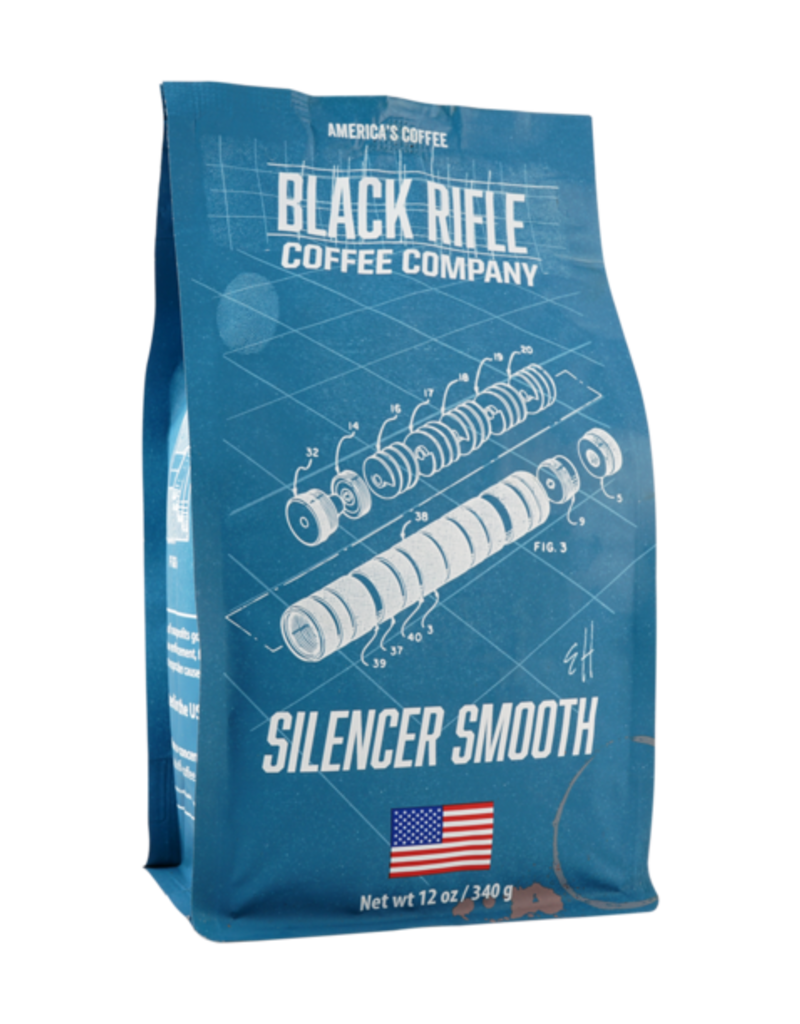 Black Rifle Coffee Black Rifle Coffee Silencer  Smooth  Coffe Roast