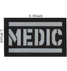 Reflecterende Medic Patch Kleur zwart