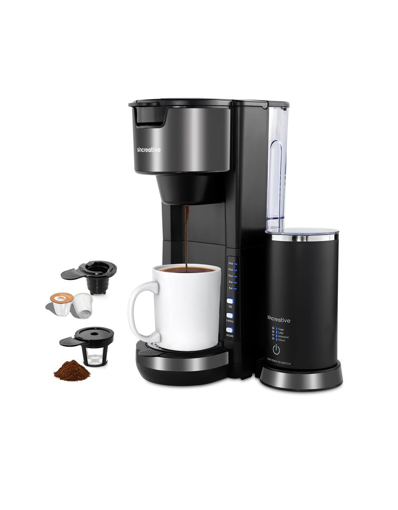 Sincreative Sincreative K Cup Coffee Maker With With Milk Frother