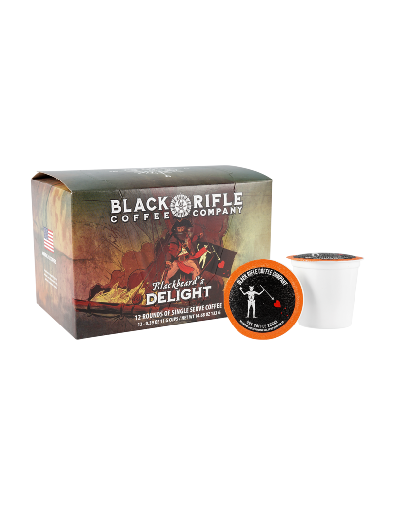 Black Rifle Coffee Black Rifle Coffee, Blackbeard 2.0 K-Cup Rounds