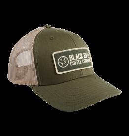 Black Rifle Coffee Black Rifle Coffee, Company Logo Patch Hat Loden/Khaki