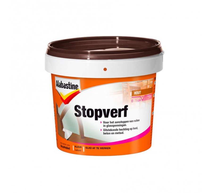 Stopverf Naturel