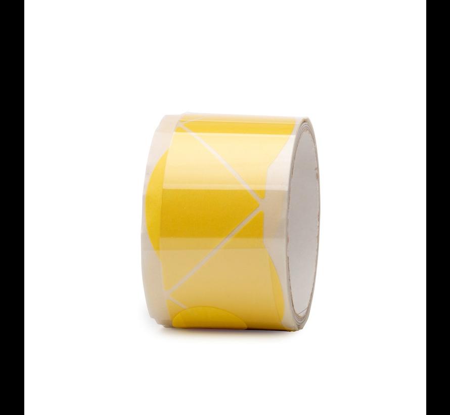 Masking Tape Hoekjes Geel