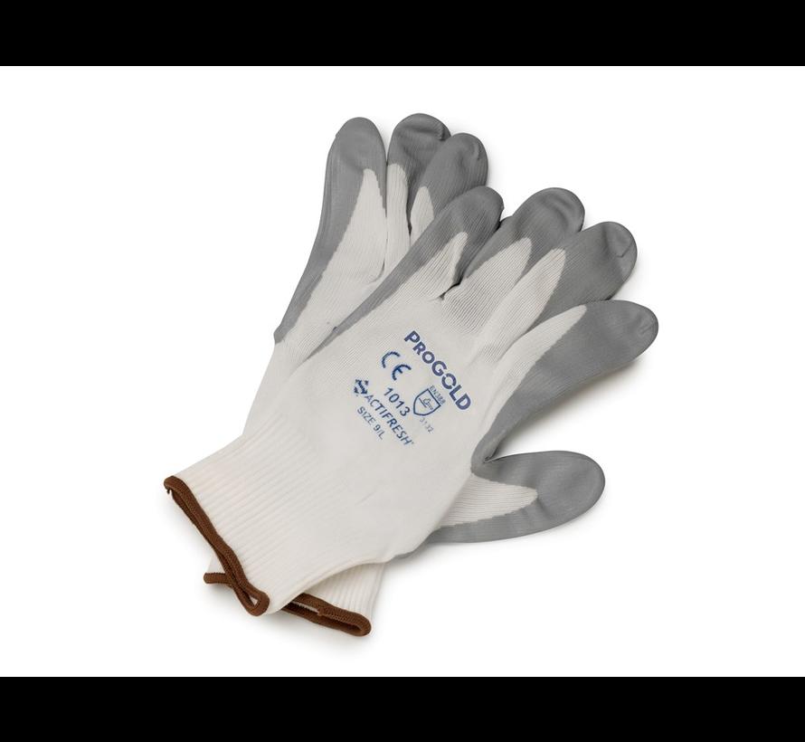 Handschoen Nitrilon Grijs
