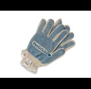 Progold Handschoen Katoen + Blauwe Nopjes