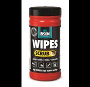 Bison Wipes Scrub