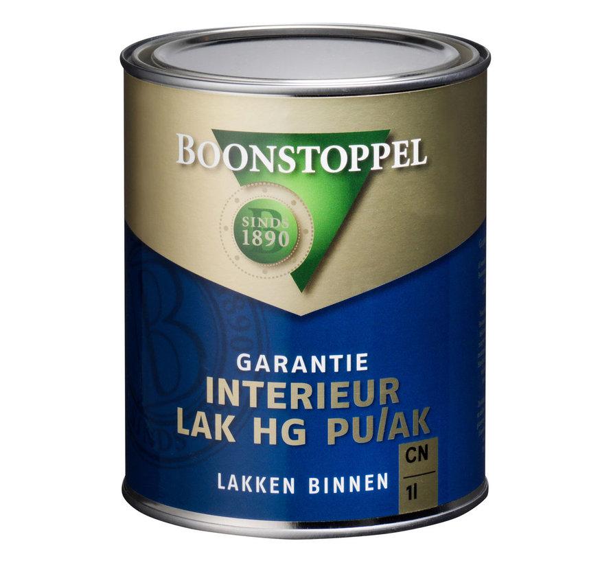 Garantie Interieur Lak Hoogglans PU/AK