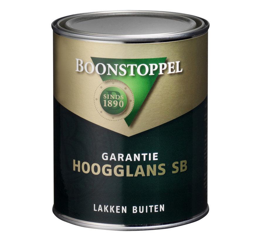 Garantie Hoogglans SB | Buitenlak