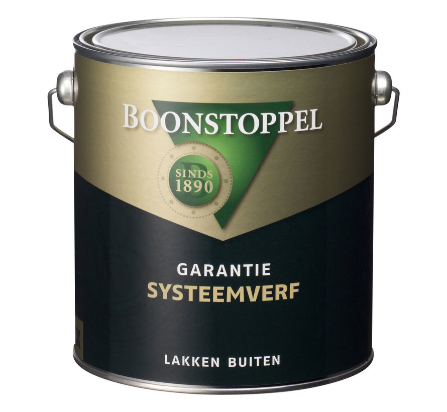 Garantie Systeemverf | Hoogglans Eén-pot-systeem