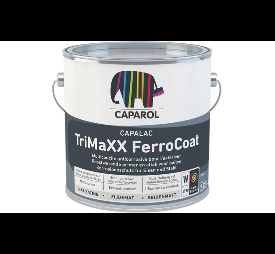 Capalac Trimaxx Ferrocoat | Zijdeglans Grond-, Voor- en Aflak Buiten