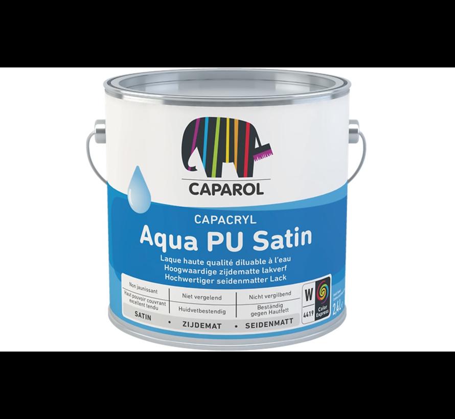Capacryl Aqua PU Satin | Zijdeglans Binnen & Buiten Lak