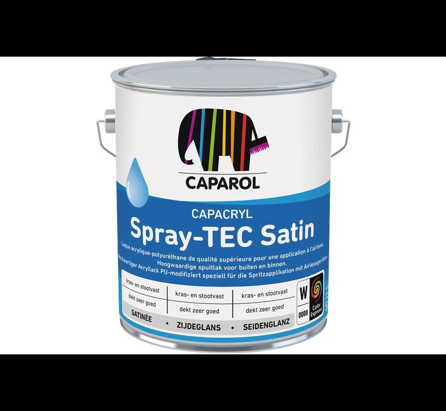 Capacryl Spray Tec Satin | Verspuitbare Zijdeglans Lak