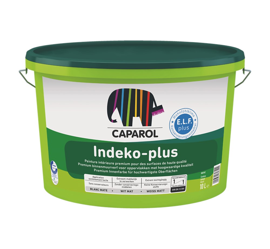 Indeko-Plus Premium Quality | Matte Muurverf