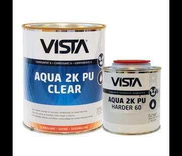 Vista Aqua 2K Pu Clear Zijdeglans